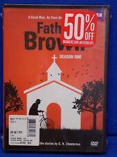 NEW BBC Father Brown: Season One (DVD, 2014, 4-Disc Set) Sealed British TV