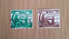 COMPLETO in Eire/IRLANDA USATI TIMBRO Set: 1944 Michael o'clery Definitives
