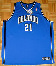 Orlando Magic Jersey Adidas NBA Custom Cookie Monster 21 MNSTAR Blue Size 60 New