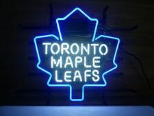 "New Toronto Maple Leafs Beer Decor Artwork Bar Neon Light Sign 17"""