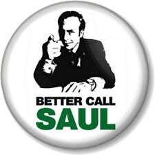 "Better Call Saul 25mm 1"" Pin Button Badge Breaking Bad Lawyer TV Goodman Comedy"