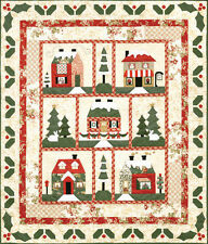 BOTM New Complete Block of the Month Quilt Patterns holly lane  63x73