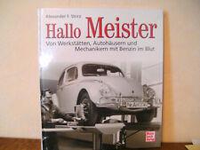 Hallo Meister von Alexander F. Storz (2014, Gebundene Ausgabe)