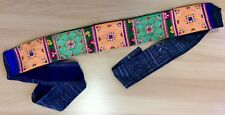 Hand-stitched Fabric Belt / Cummerbund