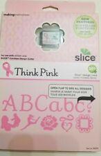 SLICE Design Card Think Pink Making Memories New