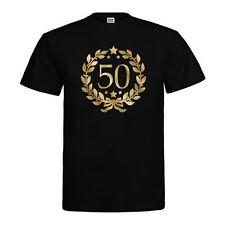 Herren-T-Shirts aus Baumwolle für Geburtstage 50. in Größe XL
