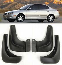 OE Front Rear 4 Pcs Fender Splash Mud Guards Flaps For 04-06 Hyundai Elantra