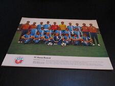 250516 A4 Poster FC Hansa Rostock DDR Oberliga 1978 Mannschaftsbild