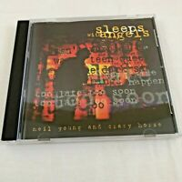 Neil Young And Crazy Horse Sleeps with Angels Music CD 1994 Rock Blues Folk
