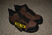 NEW Iron Age Industrial WATERPROOF Steel Toe Size 11 COMFORTABLE WORK SHOES!