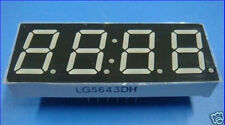 0.56''7 segment Red clock LED display common anode x2
