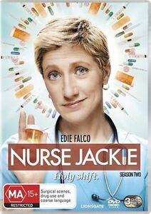 Nurse Jackie : Season 2 (DVD, 2011, 3-Disc Set) R4 FREE POST