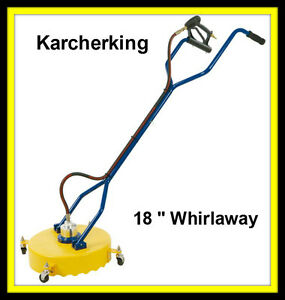 18 inch whirlaway,rotary surface cleaner