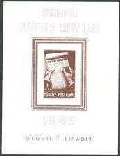 TURKEY #933 Souvenir sheet, imperf, og, NH, VF