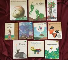 Leo Lionni Lot Of 10 Frederick, Alexander, Swimmy, Alphabet Tree And More