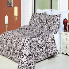 Luxurious Tustin Printed 100% Egyptian Cotton Bed in a Bag - 4 Sizes
