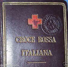 MILITARIA_SANITARIA_MEDICINA_CROCE ROSSA ITALIANA_INUSUALE OGGETTO DA COLLEZIONE