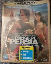 PRINCE OF PERSIA STEELBOOK [RARE/NEW/Blu-ray] Triple Play Gold HMV UK Exclusive