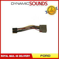 PC2-106-4 Car CD Stereo Wiring Harness Adaptor ISO Lead For FORD Fiesta (2009>)