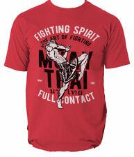 T tailandés Muay Shirt Top Hombres espíritu de lucha MMA Tiger Phuket Unisex S-3XL