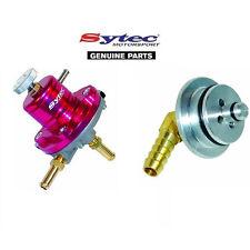 REGOLATORE di Pressione Carburante Sytec + BMW E36 316i 318i 320i Z3 Adattatore per binario di carburante