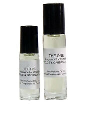 THE ONE by DOLCE & GABBANA Type for WOMEN 3.7ml Roll On Perfume Body Oil *NEW