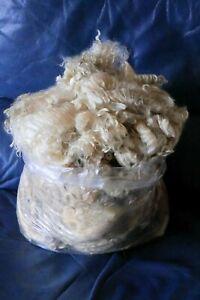Lincoln Longwool raw fleece