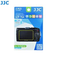 JJC LCD Screen Protector Film for OLYMPUS Waterproof Tough Camera TG-4 TG-5 TG-3