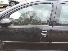 PEUGEOT 107 2013 PASSENGER FRONT DOOR 5dr EXZ  METALLIC BLACK