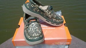Men's Soft Science Shoes Fin 2.0 Fishing Boat Shoes Camo Shoes size 11