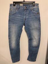 40f0c9a4 G-STAR RAW ARC Slim Jeans Men Aiden Stretch Denim Light Aged 34X32 NWT