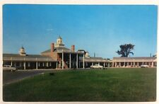 Towne Point Motel in Dover, Delaware Chrome Postcard Quality Courts United