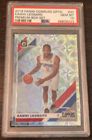 2019 Donruss Optic Kawhi Leonard /249 Premium Silver Holo PSA 10 Gem Mint 🔥