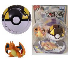 Takara Tomy Pokemon POKE DEL-Z Glurak Dracaufeu Charizard Ultra Ball Figure Set