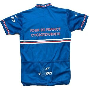 Noret Tour De France FFCT Cycling Bike Jersey Shirt  Men's Medium M