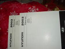 Hyundai Tiburon Service Manuals, 2003