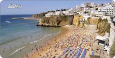 28cm x 14.5cm  ALBUFEIRA - METAL SIGN /PLAQUE - BEACH HOLIDAY PORTUGAL   114