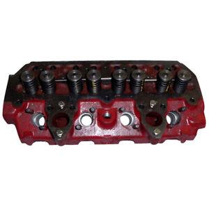 Cylinder Head w/ Valves Fits International 354 434 364 B414 424 444 B275 384