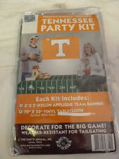 University of TENNESSEE VOLUNTEERS Tailgate Party Kit BANNER FLAG & Table Cloth