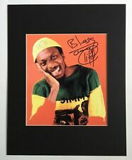 JIMMY CLIFF signed autograph photo 11x14 mat