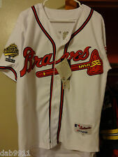 John Smoltz Braves SIGNED jersey