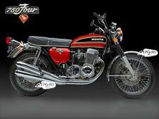 "24"" X 30"" High Definition PHOTOGRAPH Poster of Honda CB750 1975"