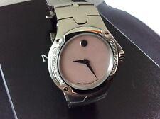 GORGEOUS Ladies Movado SE Watch Pink MOP Dial Diamond Bezel Retail $2800