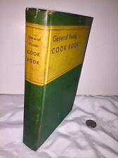 1935 General Foods Cook Book Illustrated HC