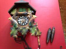 Vintage Cuckoo Clock - Black Forest - West Germany