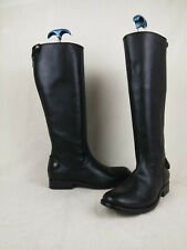 Frye Melissa Button Back Zip Knee High Riding Leather Boots Women's Size 6 B US