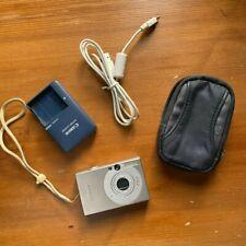 Vintage Canon PowerShot Digital ELPH SD1000 7.1MP Digital Camera, Bundle -TESTED