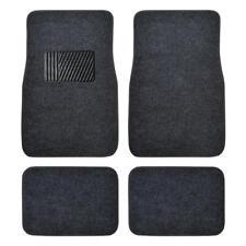 Car Carpet Mat Comfortable Floor Protection for Auto SUV Van - 4PC Dark Gray