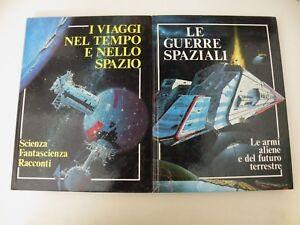 GRANDE ENCICLOPEDIA DELLA FANTASCIENZA - 2 LIBRI - DEL DRAGO 1980 - L19