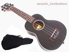 """Nice Sound 21"""" Soprano Rosewood Ukulele(Ivory Inlaid) & Carrying Bag <Limited>"""